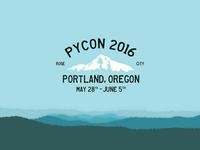 PyCon 2016 Logo