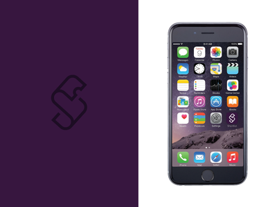 S App Icon Applied purple app icon logo s