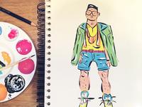 Paintin' Sketchbook