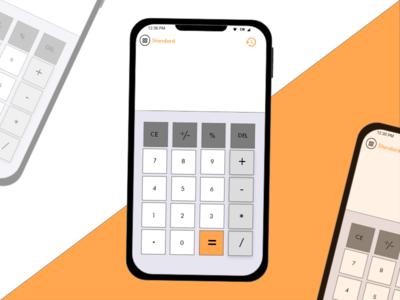 Daily UI 004 calculator ui daily ui challenge ui design daily 100 challenge dailyui