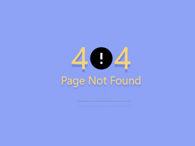 Daily UI 008 minimal error page error 404 design ui dailyui daily ui challenge daily 100 challenge