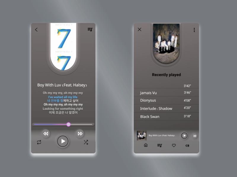 daily ui 009 uidesign music app music player music ui dailyui ui daily ui challenge daily 100 challenge