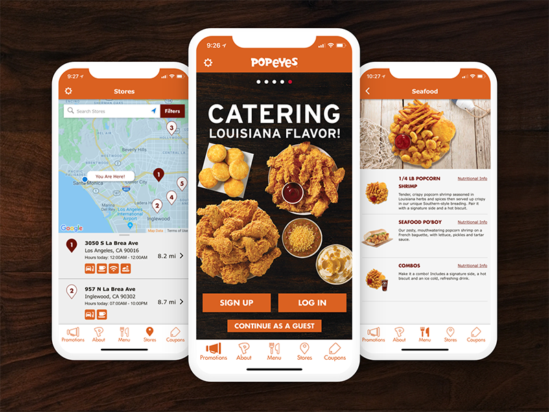 Popeyes mobile coupons