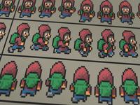 2D Pixel Animation Sprites