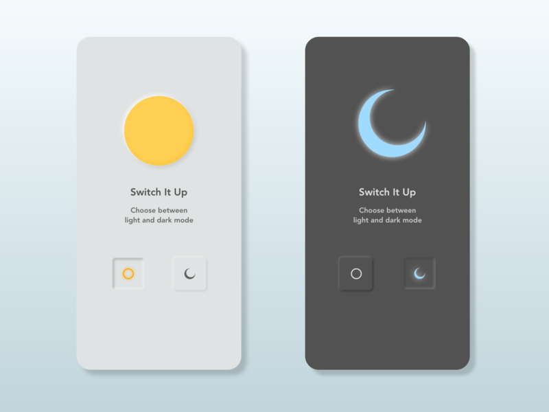 Daily UI Challenge Day 15 / On/Off Switch daily ui dailyui daily neumorphic design neumorphism neumorphic neumorph switch