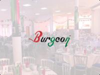 Burgeon Events - Logo Concept & Collateral photographer concept photo vector illustration design art typography lettering branding logo