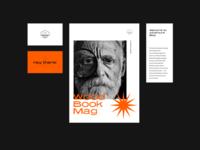 Adventure Blog Concept typographic paper journal travel magazine design magazine cover magazine polygraphy minimal color type design branding identity typography brand