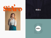 SiAro Logo logos lettering logodesign logotype badge vector vintage type branding minimal color design typography brand logo