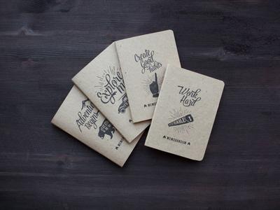 Prints for travel sketchbook