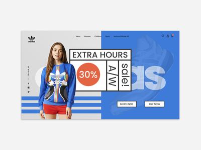 Adidas App for Web