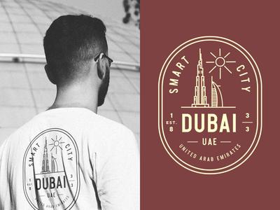 Dubai Vintage Badge