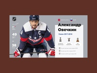 Alex Ovechkin Infographic