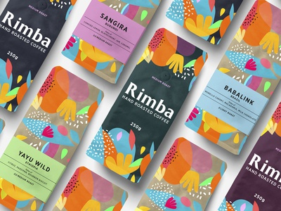 Rimba Hand Roasted Coffee Branding