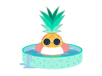 Pineapple in the Pool