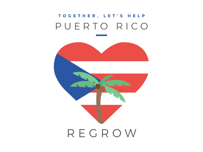 Ciales, Puerto Rico hurricane relief flag heart puerto rico