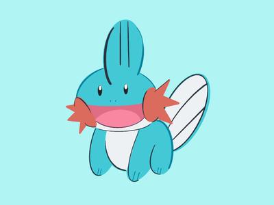 I Heard You Like Mudkips illustration procreate pokemon mudkip