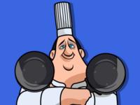 Gusteau - Chef dribbleartist dribble artwork minimalartwork minimal vectorart vector animated