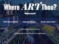 Where Art Thou Website
