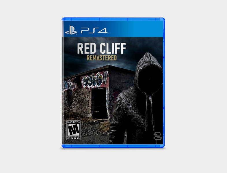 PS4 Concept Design - Redcliff Remastered newfoundland photoshop first person dark grungy distressed playstation 4 ps4 video game art game art