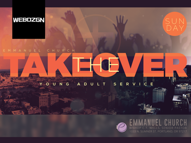 """""""The Takeover"""" Flyer"""