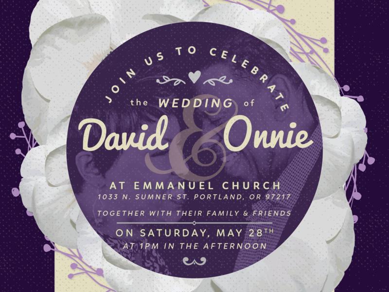 Wedding Invitation Branding