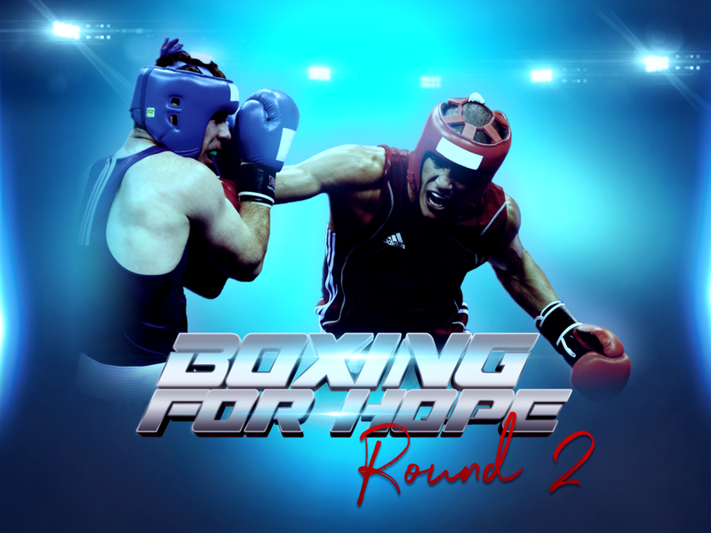 Boxing For Hope Event Flyer