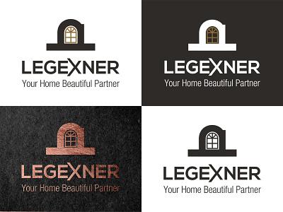 Legexner Furniture Logo wooden mordern logo logo furniture