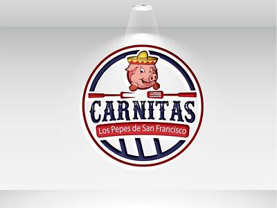 Carnitas creative illustration branding creative  design logo vector creativity creative logo creative design design