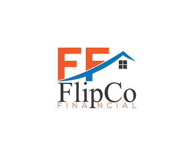 FlipCo Financial minimal creative creative  design flat branding logo creativity creative logo creative design design