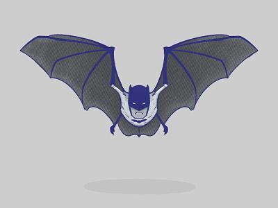 batman character fuzzy ipadpro illustration knight dark dark knight dc universe dc comics comic comics dc vampire man bat batman