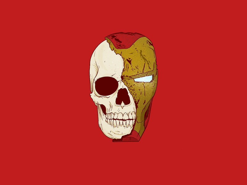 ironman gold red sacrifice dead death skeleton skull comic art illustration doodle sketch marvel universe comics marvel comics marvelcomics tony stark iron man mcu marvel ironman