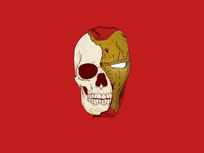 ironman gold red sacrifice dead death skeleton skull comic art illustration doodle sketch marvel universe comics marvel comics marvelcomics tony stark iron man mcu marvel ironman