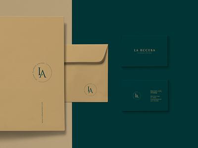 La Rcceba logo branding design vector minimal graphic design logotype branding brand identity logo design logo brand identity design