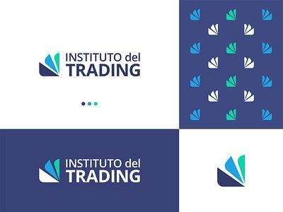 Instituto del trading - logo Branding vector logodesign app icon logo modern logo minimal brand identity app logo branding brand identity design logo design logo