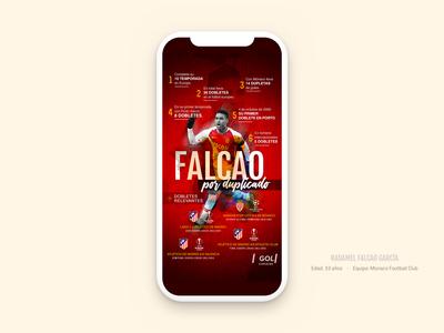 Infographic Falcao García