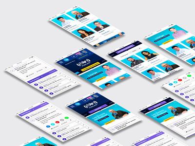 Podcast Blu Radio uxdesign interaction interface designer design ux  ui uidesign movil radio bluradio podcast
