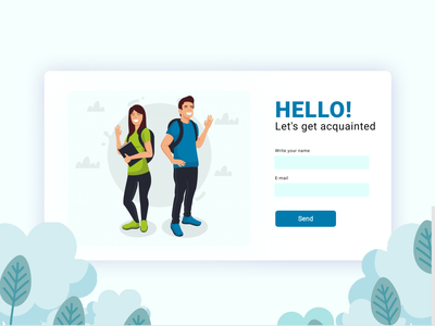 Login form people illustration illustrator people education animated gif animation design ui  ux onboarding login design forms login form login page