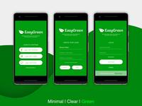 Reminder App UI | EasyGreen xd userinterface uiux uidesign sketch photoshop figma design art adobe