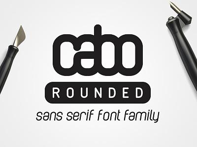 Cabo Rounded Font Family soft rounded minimal stylish modern fonts font
