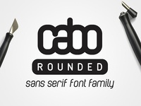Cabo Rounded Font Family