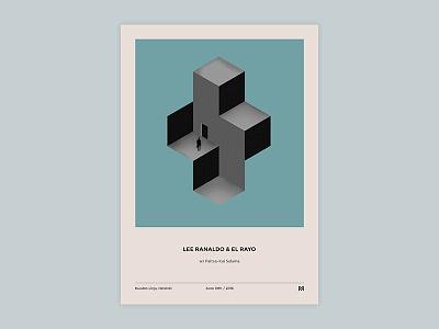 Gig poster project - Lee Ranaldo & El Rayo illustration gigposter poster print graphicdesign