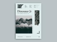 Gig poster project - Dinosaur Jr.
