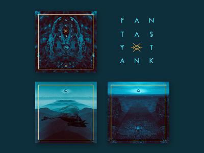 Fantasytank for Forage Press typography logo musicart graphicdesign