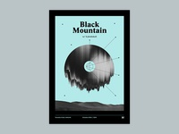 Gig poster project - Black Mountain