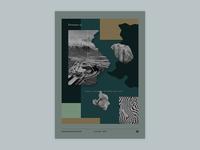 Gig poster project - Dinosaur Jr. - Sideways