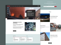Webdesign for an engineering company.