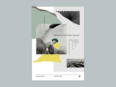 Gig poster project - Godspeed You! Black Emperor