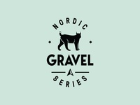 Nordic Gravel Series logo patch lynx logo