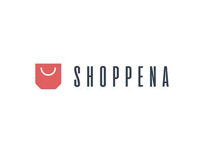 Shoppena - logo design branding design logo