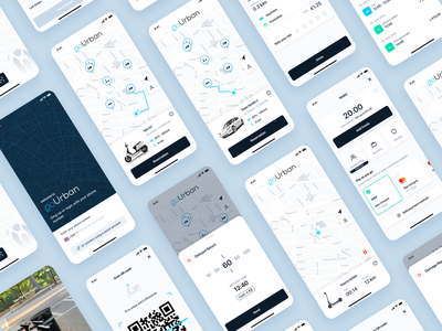 goUrban - The new technology standard in shared mobility app design uiux product design micromobility